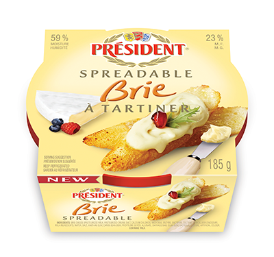 Spreadable Brie Package