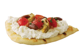 Feta and Artichoke Pita