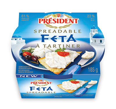 Spreadable Feta Package
