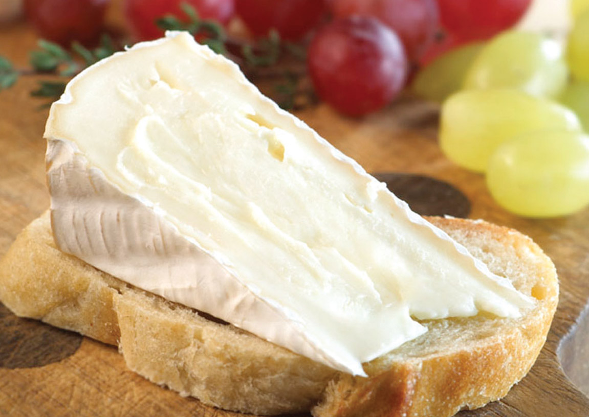 Brie on a Crostini