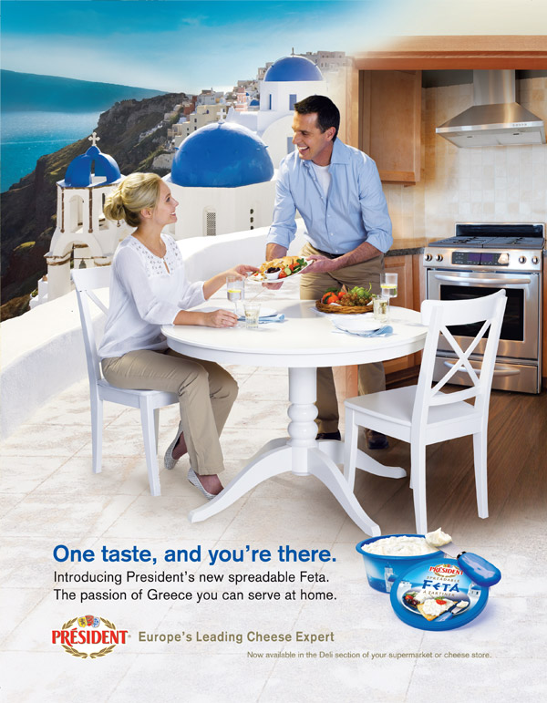 One Taste of President Feta and You're in Greece!