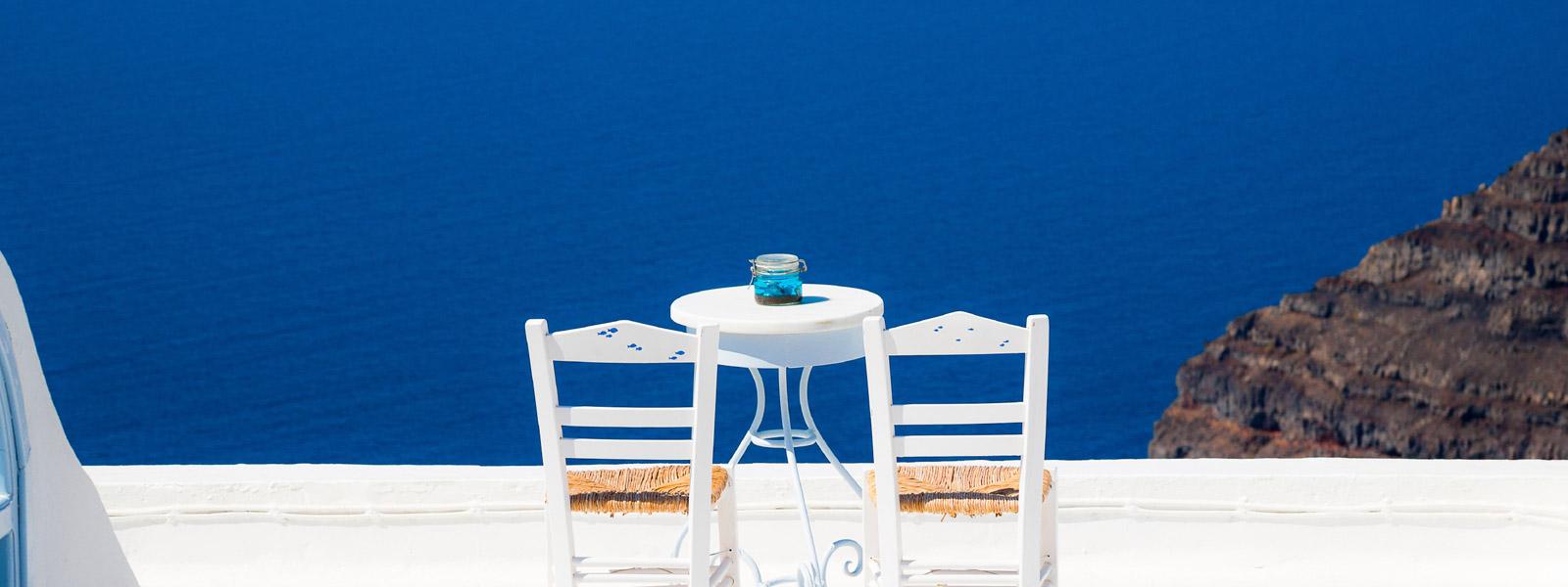 Santorini Background