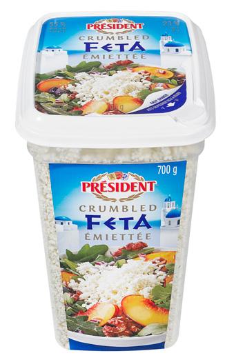 President 700g Crumbled Feta