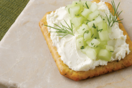 Spreadable Feta Cucumber