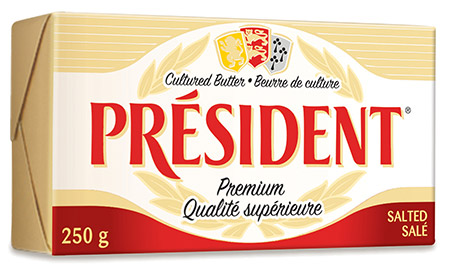 President Cheese Salted Butter 250g