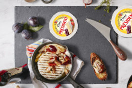 GRILLED-PRESIDENT-BRIE-WITH-SABA-AND-PLUMS