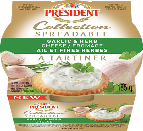 Spreadables Garlic & Herb