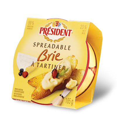 President Spreadable Brie